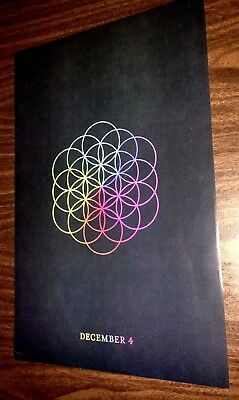 Coldplay - A Head Full of Dreams - Poster - Chris Martin Beyonce - Teaser Design