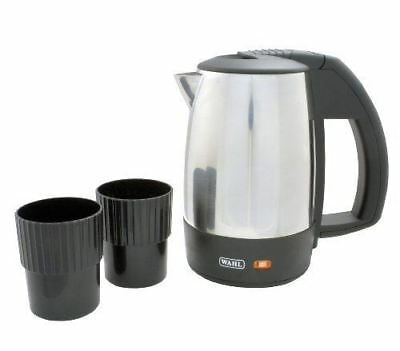 Wahl ZX643 Universal volt 0.5L 1Kw Stainless Steel Travel Kettle 2 Travel Cups