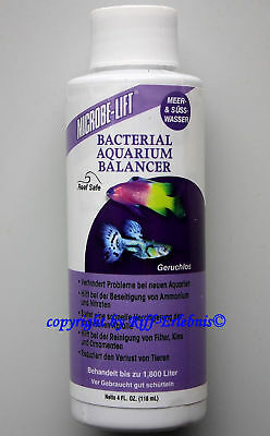 Bacterial Aquarium Balancer 118ml Microbe-Lift 57,63€/L