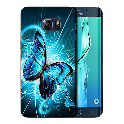 hard case cover for samsung galaxy s6 edge plus - futuristic butterfly