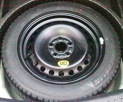 Ford Spacesaver Spare Wheel + Tyre - Mondeo, Focus, Kuga, C-Max, S-Max, Galaxy