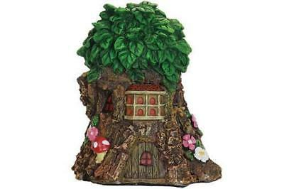 Miniature Dollhouse FAIRY GARDEN - Leafy Tree House - Accessories