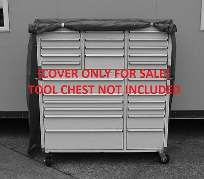 """Us Pro Tools Massive Tool Chest Box Protective Cover Stainless Steel Cabinet 54"""""""