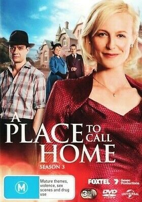 A Place To Call Home : Series / Season 3 (DVD, 2016, 3-Disc Set) R4