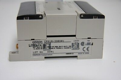 Omron  PLC CPM1A-20EDR1 Input / Output Block