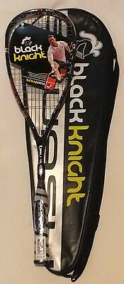 NEW Black Knight C2C Black Squash Racquet