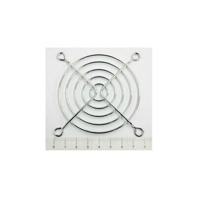 80mm PC Fan Metal Grille Protector Finger Guard