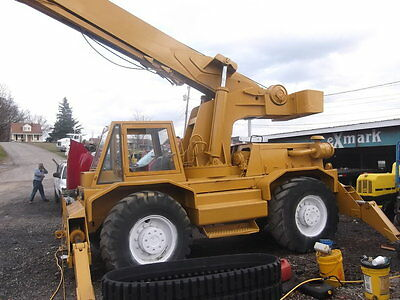BUCYRUS ERIE HY-DYNAMIC 250 ROUGH TERRAIN CRANE Rough Terrain
