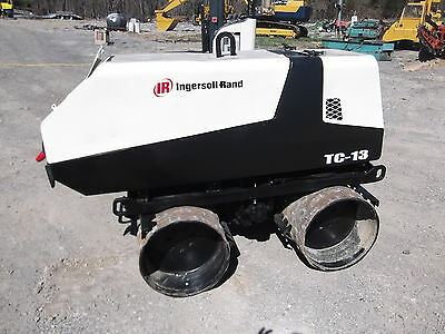 INGERSOLL-RAND TC-13 TRENCH COMPACTOR WIRELESS REMOTE KUBOTA DIESEL  Compactors