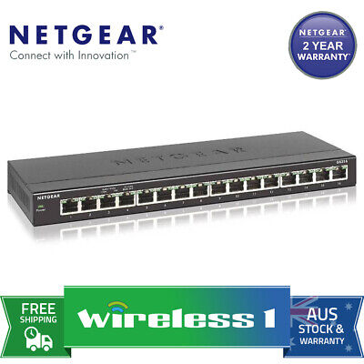 Netgear GS316 – 16-Port SOHO Gigabit Ethernet Switch