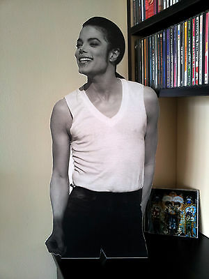 MICHAEL JACKSON Promo DISPLAY Stand Standee Dangerous In The Closet Xscape NEW