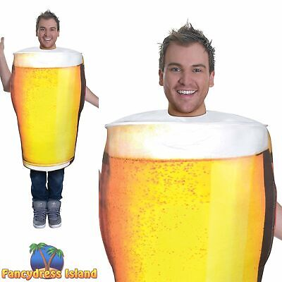 OKTOBERFEST PINT OF BEER NOVELTY FUNNY - One Size - mens fancy dress costume