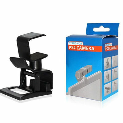 TV Clip Stand Bracket Holder For PS4 Move Eye Camera