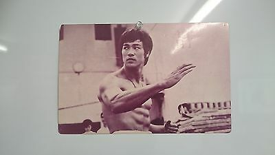 Bruce Lee The Big Boss Poster Card Collectable Pop Pix Series Vintage Rare