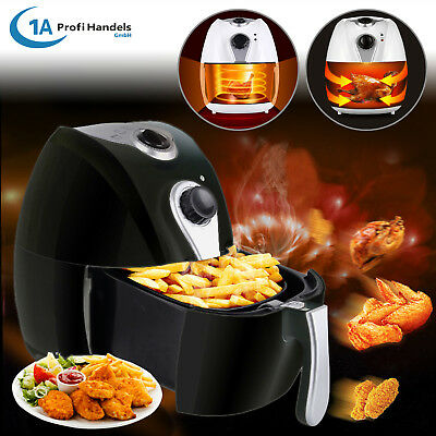 Healthy Low Fat Fryer Kitchen Oil Free Hot Air Food Electric Chip Cooking Health