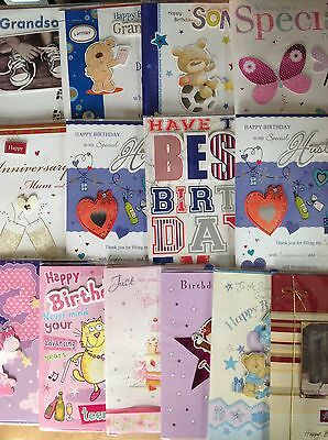 Wholesale bulk Joblot of Mix cards x 50 (19p per card)