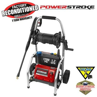 Power Stroke PS14133 1700 PSI Electric Pressure Washer ZRPS14133 Reconditioned