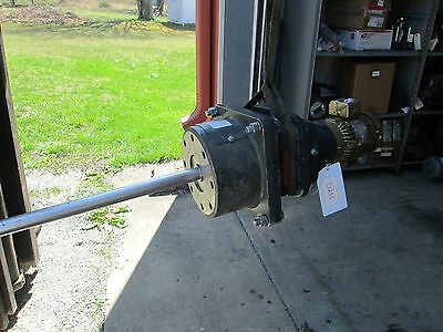 Electrical Drive Axial Turbine Agitator W/ Falk Ram Drive Gear Reducer (Used)