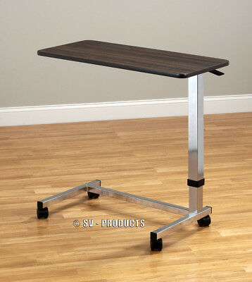 Hospital Overbed Over Bed Table Food Tv Rolling 216 65 50 Picclick