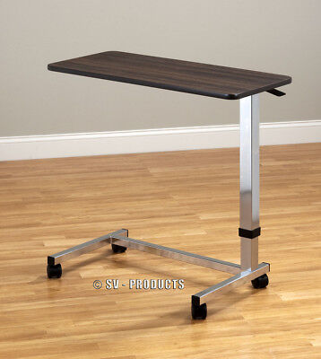 Hospital Over/Bed Table Food TV Trays w/Wheels 216