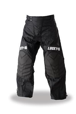 Lucky 15 Paintball Pants - New 2016 - Black: Size Medium In Stock