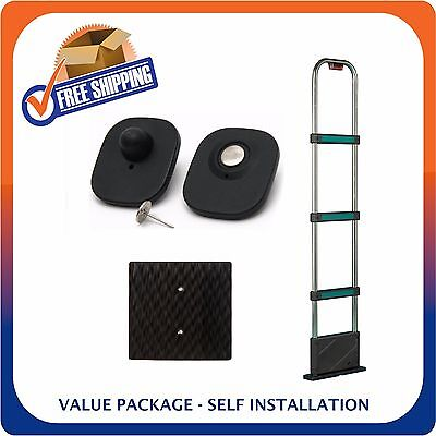 Retail Security Tower And 1000 Security Tags Eas Loss Prevention Made In Usa