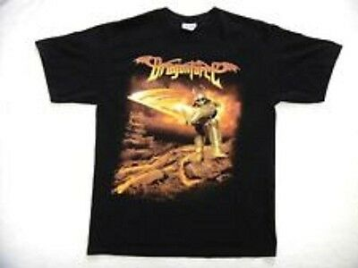 New: DRAGONFORCE (Power Metal) - Fiery Knight 2006 Tour Concert T-Shirt Large
