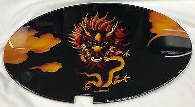"Slot Machine Topper Insert "" Black Dragon """