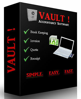 Small Business Accounting, Invoice, Quote & Receipts Excel Spreadsheets Package