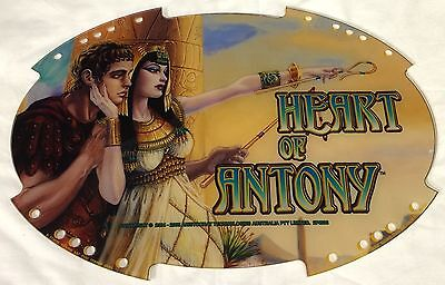"Slot Machine Topper Insert ""heart Of Anthony"""