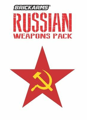BrickArms Russian Weapons Pack Guns & Accessories for LEGO Minifigures NEW