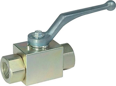 "3/8"" High Pressure Industrial Steel Ball Valve 7250 PSI - Full Port"