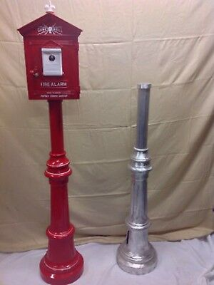 Gamewell fire alarm box stand