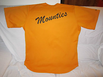 Mounties Baseball Softball Jersey Xl