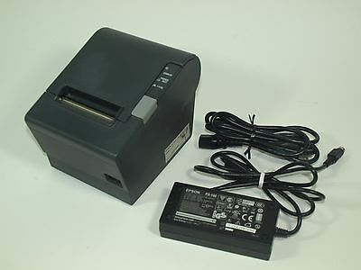 EPSON TM-T88IV Thermal Receipt Printer POS With AC adapter - BAD PRINTHEAD