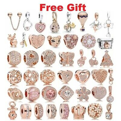 Authentic 925 Sterling Silver New Arrivals Charms fit European Charm Bracelet