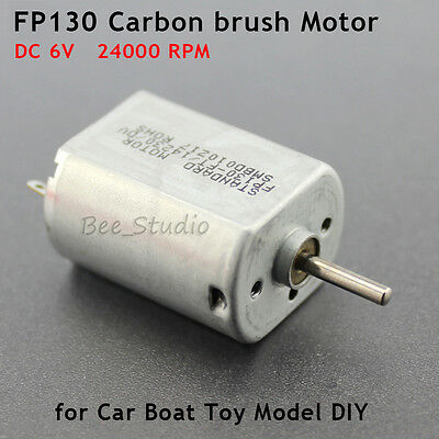 High Speed RC Remote Control FP130 Motor DC 6V 24000RPM Carbon brush Motor DIY