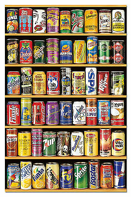 Puzzle 1000 Piezas Teile Pieces Miniature Latas Cans Educa 14835