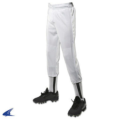 Kids Elastic Waist Pull Up T-Ball Baseball Pant Youth Sizes: XXS - XL & 4 Colors