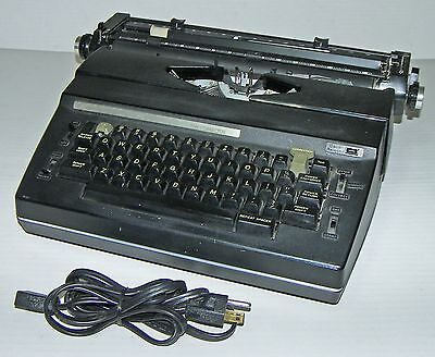 "➤ Vintage 1980's Sears ""The Corrector"" Electric Typewriter w Case!~TESTED,WORKS~"