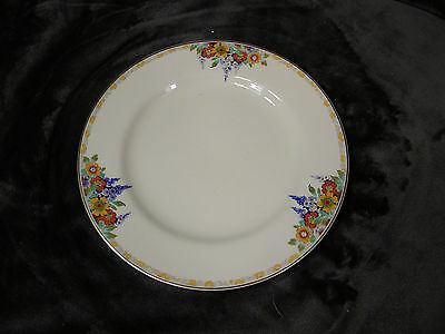 "J&G Meakin England 8 3/4"" Lunch Plate Rege Sol 391413, EXCELLENT"