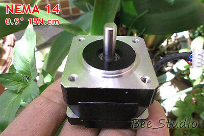 NEMA 14  2-phase 4-wire 35mmStepper Motor for 5mm pulley RepRap Prusa 3D printer