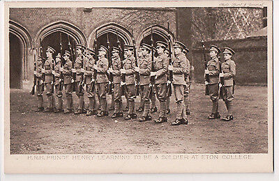 Vintage Postcard Prince Henry, Duke of Gloucester at Eton