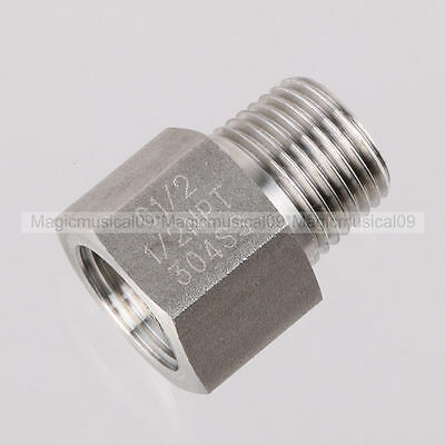 "G1/2"" Female Transfor NPT1/2"" Male threads adapter 304SS Material"