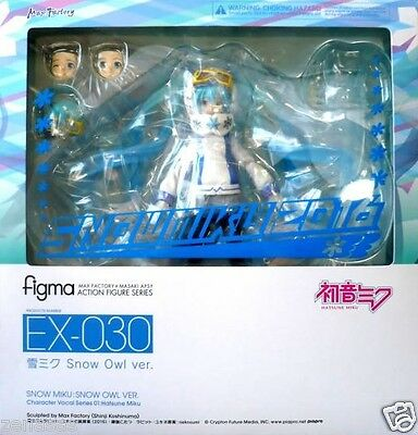 FROM JAPAN Character Vocal Series 01 H... figma EX-030 Snow Miku Snow Owl ver