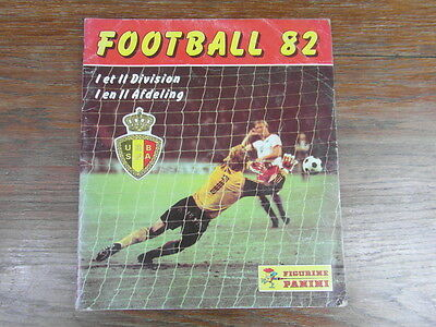 (Mc) Album Panini Stickers Football Foot Belgique Belgium 82 1982