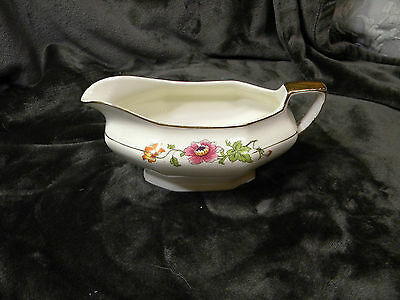 Vintage Albright China, Gravy Boat, Very Rare And Hard To Find, Good