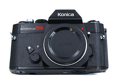 Konica Autoreflex T4 Replacement Cover - Laser Cut Recovery Leather