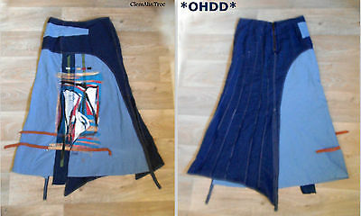 JUPE OHDD ( SAVE THE QUEEN) taille 28 soit 36 38 fr jupe jeans noir ... 0f0587b11a