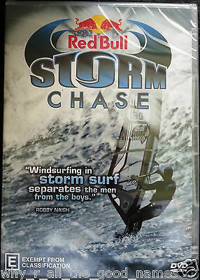Red Bull STORM CHASE - 1 Storm 9 Countries 24 Wind Surfers 130 mins. DVD